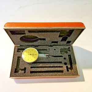 Brown Sharpe 599 7033 10 Dial Test Indicator 002mm Increments 0 100 0