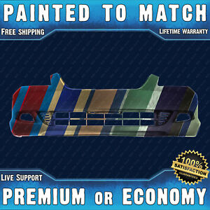 New Painted To Match Front Bumper Cover For 2005 2006 2007 Honda Odyssey Touring