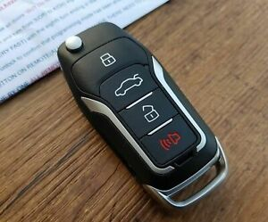 Ford Mustang 10 14 Key 15 17 Style Remote Key Clicker With Chip
