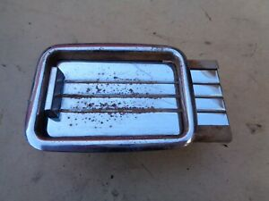 1951 1952 Chevy Convertible Rear Seat Ash Tray Assembly Original Gm In Arm Rest