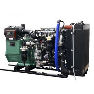New 40kw Open Frame Diesel Tier Iv Generator With Hatz Diesel 4h50