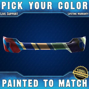 New Painted To Match Front Bumper Face Bar For 2016 2018 Chevy Silverado W Fog