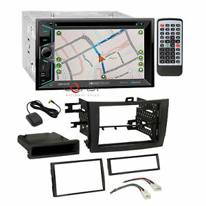 Soundstream Dvd Bt Gps Stereo Dash Kit Wire Harness For 2009 13 Toyota Corolla