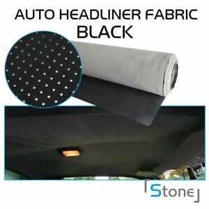 Perforated Fabric Headlining Auto Upholstery Seating Trimmings 36 X60 X1 8
