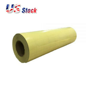 Usa 20 X 98 Roll Application Tape For Image Transfer Yellow Paper Based