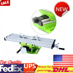 X Y Cross Slide Table Drill Vise Milling Machine Bench Fixture Worktable