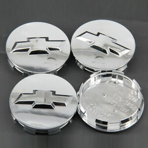 4pcs Chrome 20 22 Wheel Center Caps Chevy Silverado Suburban Tahoe 83mm 3 25