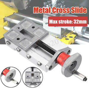 118mm Metal Cross Slide Block Z008m For Mini Lathe Feeding Relieving Axis Y z