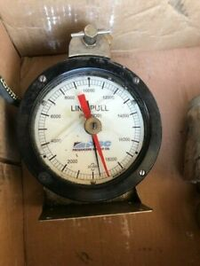 20 000 Lb Hydraulic Line Pull With Cylinder Gauge Producers Supply Co