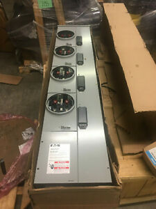 Eaton Cutler Hammer 4 Socket Meter Stack 1mm420rrlp 800a Bus 1 Ph 3w 220 A Bases