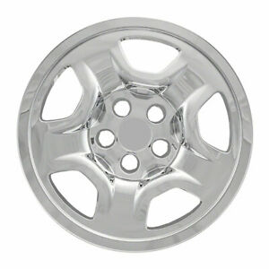 16 Chrome Wheel Skins Covers For 15 18 Jeep Renegade 17 19 Compass Sport X4