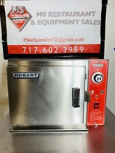 Hobart Es 5 Steamer Great Working Condition New Door Seal Tested