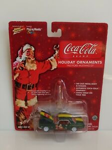 Rare Johnny Lightning Coca-Cola 1965 Ford Mustang GT White Lightning Chase Green