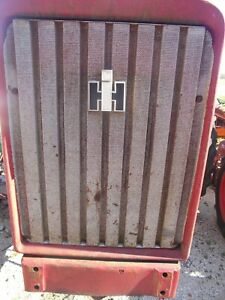 Farmall International 656 Tractor Grille Front Nose Cone Grill Screen Ih Emblem