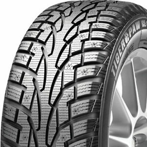 4 New 225 60r17 99t Uniroyal Tiger Paw Ice Snow 3 225 60 17 Tires