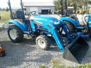 2016 New Holland Boomer 24 Compact Tractor W 235tl Loader 4x4 Hydro 2 7 Hrs
