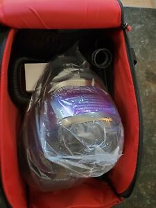 New 3m Speedglas Adflo High Efficiency System Welding Helmet 9100fx Complete
