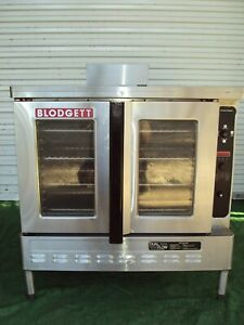 Blodgett Dfg100 Dual Flow Gas Single Bakery Commercial Oven Bakery Pizza