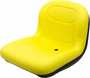 Milsco Xb150 Yellow Vinyl Seat 15 5 Tall With Multiple Mounting