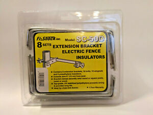 Extension Bracket Electric Fence Insulators Model Sc 50d Fi shock Inc