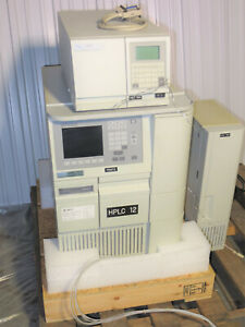 Waters 2695 Separations Module 2487 Absorbance Detector Column Heater Hplc
