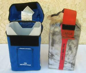 New Generation Large Forest Fire Shelter Protection Mfg Date 10 09 W Case