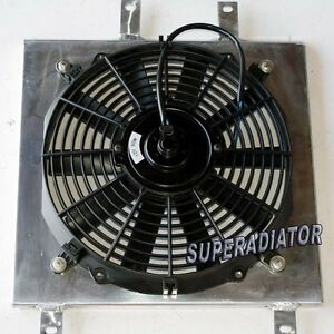 Aluminum Radiator Fan Shroud Fit For 1992 2000 Honda Civic New In Box With Fan