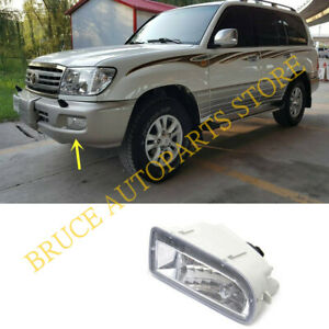 For Toyota Land Cruiser Lc100 1998 2007 Left Side Front Bumper Fog Lamp Light J