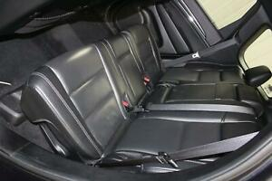 2014 14 Jeep Grand Cherokee Back Rear 2nd Row Seat Set Black Leather