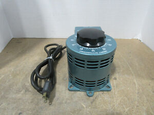 Staco Type 2pf1010 Variable Autotransformer Input 120v 10a Tested And Working