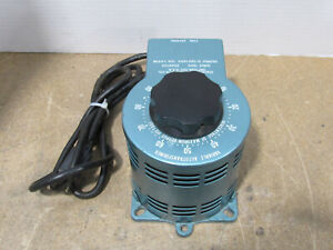 Tested Working Staco Type 2pf1010 Variable Autotransformer Input 120v 10a