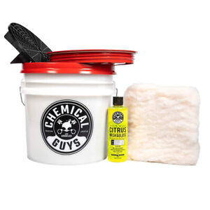 Chemical Guys Car Wash Detailing Bucket Kit 5 Items Acc101 Free Shipping