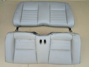 99 04 Mustang Gt Convertible Rear Tan Leather Seats Oem 2004
