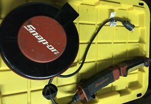 Snap On Retractable 30 Ft Extension Cord 13w Florescent Snap On Light