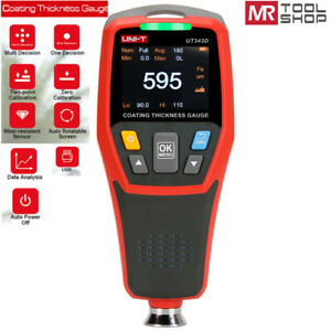 Uni t Portable Digital Painting Thickness Meter Car Coating Gauge Auto Tester
