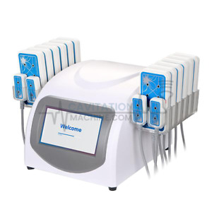 Cavitationmachine Inc 16 Pad Lipolysis Led Laser Machine