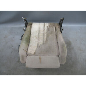 1987 1993 Bmw E30 Convertible Right Front Cloth Sport Seat Bottom W Seat Rail