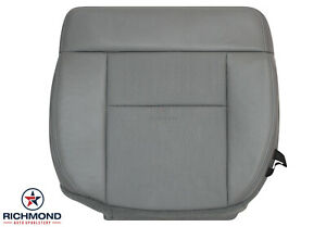 2004 2008 Ford F 150 Fx4 Fx2 F150 Driver Side Bottom Leather Seat Cover Gray