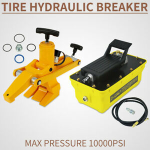 Tractor Truck Hydraulic Bead Breaker Tire Changer Equipment Airhose Tools