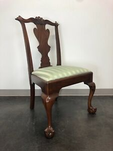 Henkel Harris Model 102 S Chippendale Ball Claw Dining Side Chair