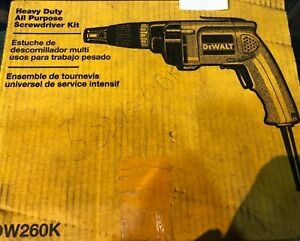 Dewalt Heavy Duty All Purpose Screwdriver Kit dw260k