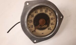 1930s Chevrolet Standard Speedometer Odometer Vtg Ac Spark Plug Co Rat Hot Rod