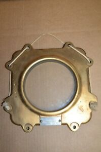 Original Brass Wwii Ship Steering Station Authentic By Chas J Henschel