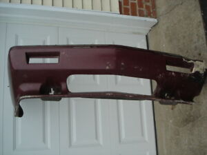 Avanti Front Bumper With Valance