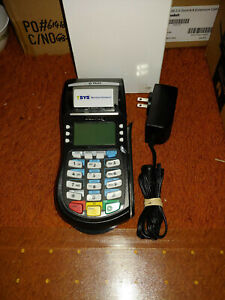Equinox T4220 Credit Card Terminal Machine used With Power Adapter