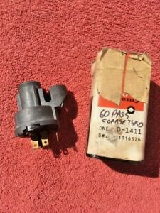 1960 Chevrolet Impala Biscayne Bel Air Nos Delco Remy Ignition Switch 1116576