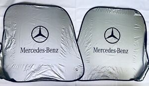 New Foldable Mercedes Benz Auto Sun Shade Pivot System
