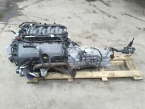 2011 2014 Mustang 5 0 Coyote Engine Drop Out With 6 Speed Transmission