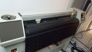 Hp 7585b Plotter Exccelent Condition Low Usage Great Cnc Platform Potential