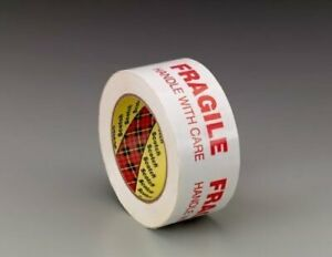 Roll 3m 3772 Packing Tape Fragile Handle With Care 48 Mm Width X 100 M Long
